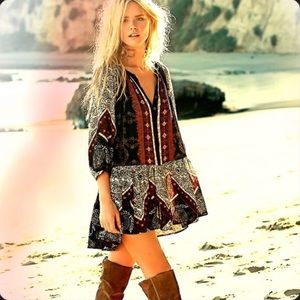 Free People Portobello Printed Tunic